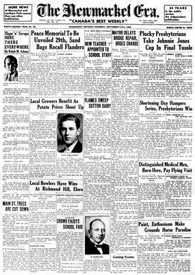 Newmarket Era (Newmarket, ON1861), September 19, 1935