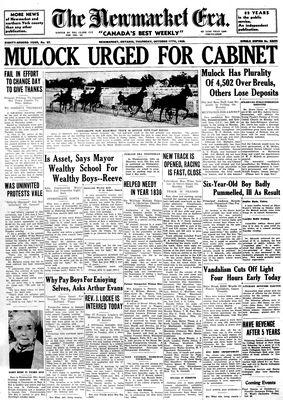Newmarket Era (Newmarket, ON1861), October 17, 1935