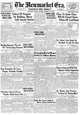 Newmarket Era (Newmarket, ON1861), December 12, 1935