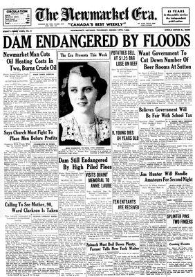 Newmarket Era (Newmarket, ON1861), March 12, 1936