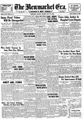 Newmarket Era (Newmarket, ON1861), May 7, 1936