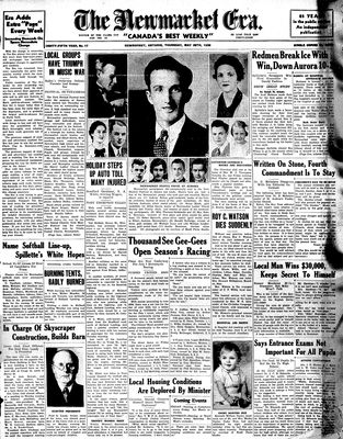 Newmarket Era (Newmarket, ON1861), May 28, 1936