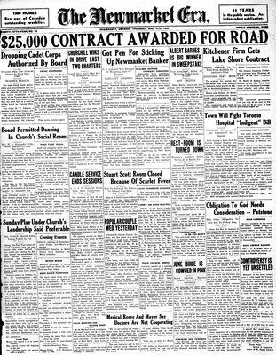 Newmarket Era (Newmarket, ON1861), June 4, 1936