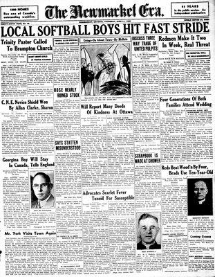 Newmarket Era (Newmarket, ON1861), June 11, 1936