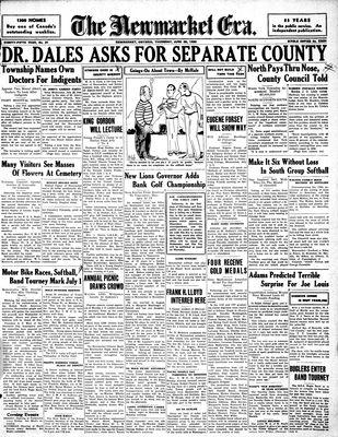 Newmarket Era (Newmarket, ON1861), June 25, 1936