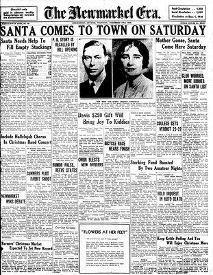 Newmarket Era (Newmarket, ON1861), December 17, 1936