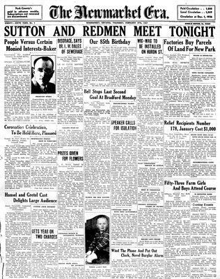 Newmarket Era (Newmarket, ON1861), February 4, 1937