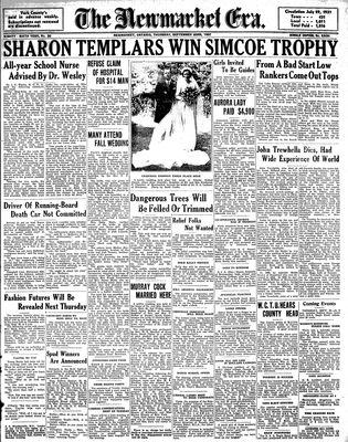 Newmarket Era (Newmarket, ON1861), September 23, 1937