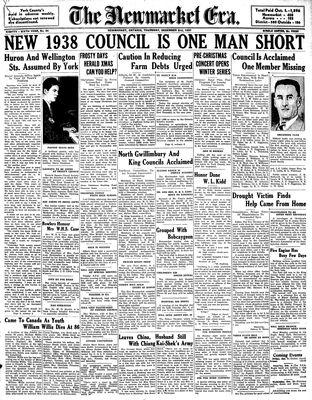 Newmarket Era (Newmarket, ON1861), December 2, 1937