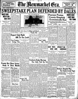 Newmarket Era (Newmarket, ON1861), February 10, 1938