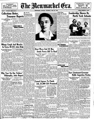 Newmarket Era (Newmarket, ON1861), June 23, 1938