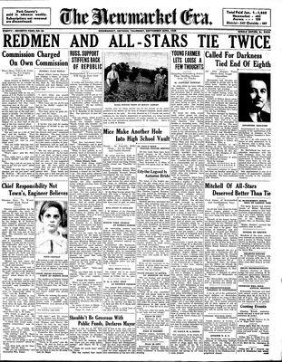 Newmarket Era (Newmarket, ON1861), September 22,1938