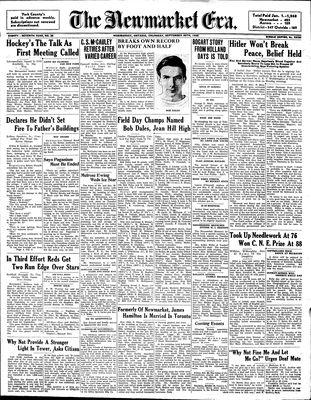 Newmarket Era (Newmarket, ON1861), September 29, 1938