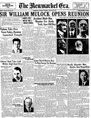 Newmarket Era (Newmarket, ON1861), June 29, 1939