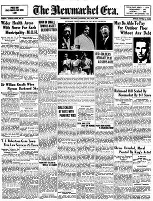 Newmarket Era (Newmarket, ON1861), July 6, 1939