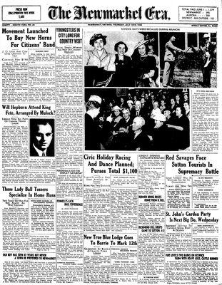 Newmarket Era (Newmarket, ON1861), July 13, 1939