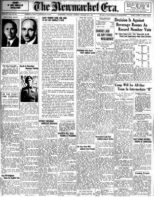 Newmarket Era (Newmarket, ON1861), December 4, 1941