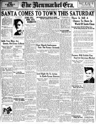 Newmarket Era (Newmarket, ON1861), December 18, 1941