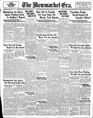 Newmarket Era (Newmarket, ON1861), February 26, 1942