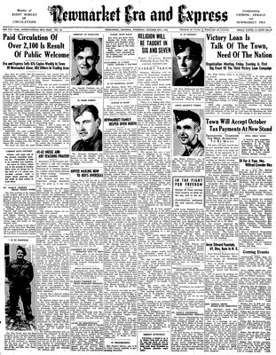 Newmarket Era and Express (Newmarket, ON), October 8, 1942