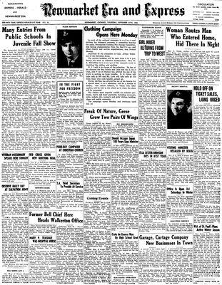 Newmarket Era and Express (Newmarket, ON), September 27, 1945
