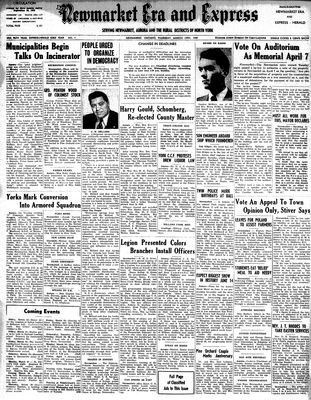 Newmarket Era and Express (Newmarket, ON), March 13, 1947