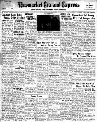 Newmarket Era and Express (Newmarket, ON), June 5, 1947