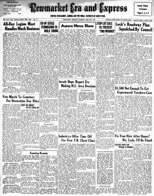 Newmarket Era and Express (Newmarket, ON), June 19, 1947