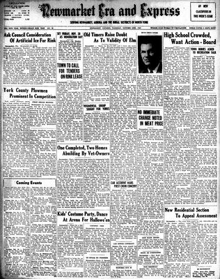 Newmarket Era and Express (Newmarket, ON), October 23, 1947