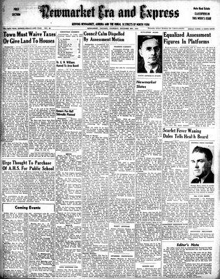 Newmarket Era and Express (Newmarket, ON), December 4, 1947