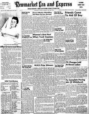 Newmarket Era and Express (Newmarket, ON), July 22, 1948