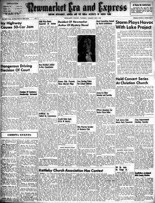 Newmarket Era and Express (Newmarket, ON), January 20, 1949