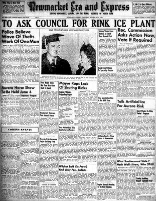 Newmarket Era and Express (Newmarket, ON), January 27, 1949