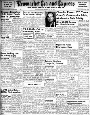Newmarket Era and Express (Newmarket, ON), May 26, 1949