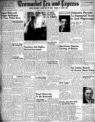 Newmarket Era and Express (Newmarket, ON), June 16, 1949