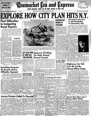 Newmarket Era and Express (Newmarket, ON), January 26, 1950