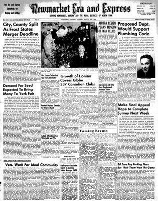Newmarket Era and Express (Newmarket, ON), March 2, 1950