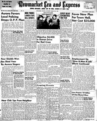 Newmarket Era and Express (Newmarket, ON), March 9, 1950