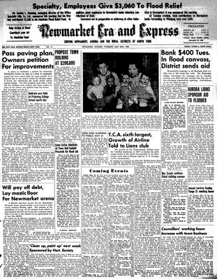 Newmarket Era and Express (Newmarket, ON), May 25, 1950