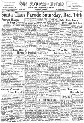 Express Herald (Newmarket, ON), December 12, 1940