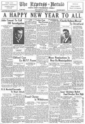 Express Herald (Newmarket, ON), December 31, 1940