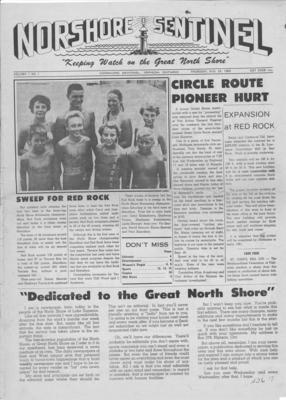 Norshore Sentinel (Nipigon, ON), 25 Aug 1960