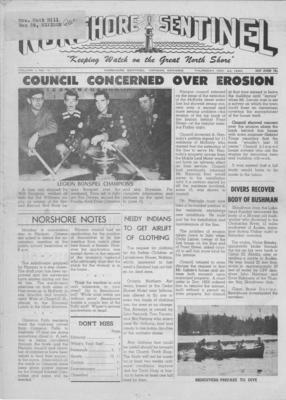 Norshore Sentinel (Nipigon, ON), 24 Nov 1960