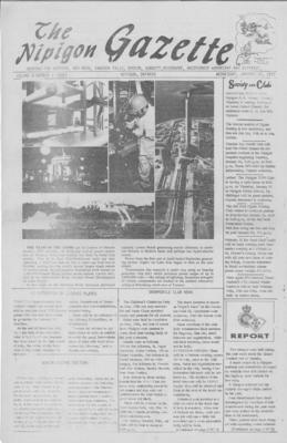 Nipigon Gazette, 12 Jan 1972