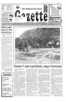 Nipigon Red-Rock Gazette, 21 Sep 1993