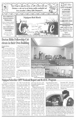 Nipigon Red-Rock Gazette, 18 Dec 2007