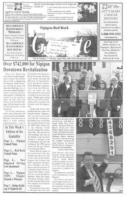 Nipigon Red-Rock Gazette, 24 Apr 2007