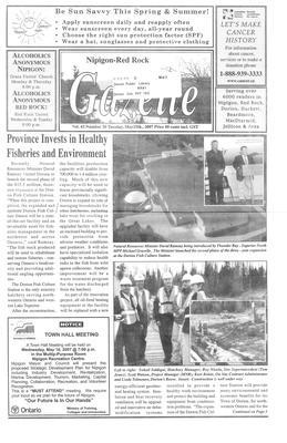 Nipigon Red-Rock Gazette, 15 May 2007