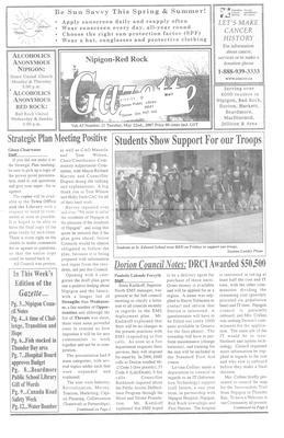 Nipigon Red-Rock Gazette, 22 May 2007