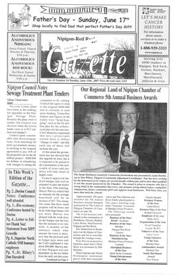 Nipigon Red-Rock Gazette, 12 Jun 2007